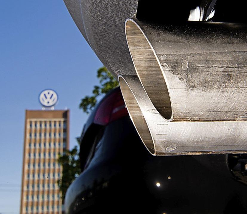 Der Abgasskandal kostet VW viel.    Foto: Julian Stratenschulte