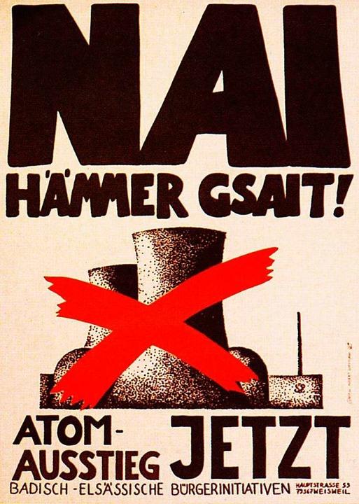 Nai hämer gsait – der berühmte S...Anti-Atomkraft-Kampagne am Kaiserstuhl  | Foto: promo