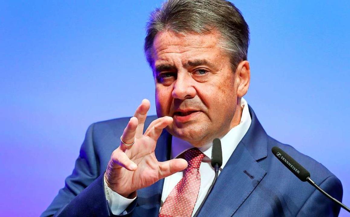 Sigmar Gabriel wechselt aus der Politik zur Deutschen Bank.  | Foto: Daniel Karmann