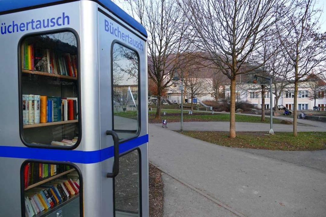 Viele gute Bücher, aber auch viel Auss...ienpark. Der Werkhof hat sie umgebaut.  | Foto: Verena Pichler
