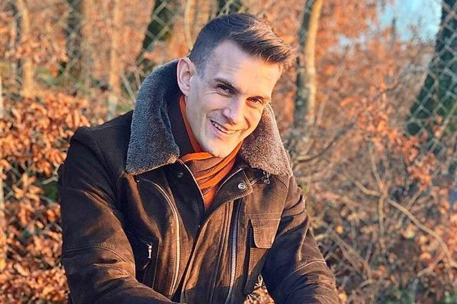Florian Zöbelin will Bürgermeister von Kandern werden