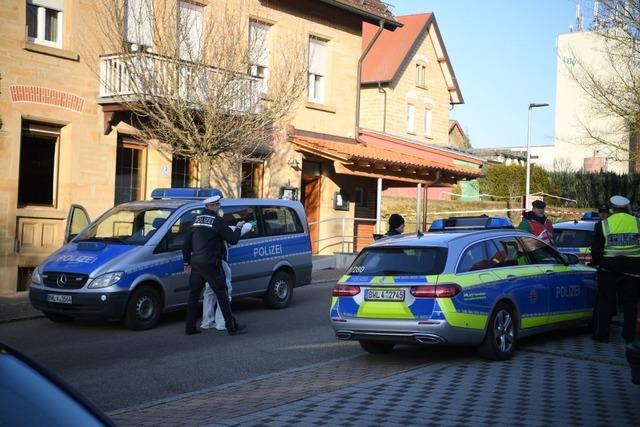 Sechs Tote nach Schüssen in Rot am See in Baden-Württemberg