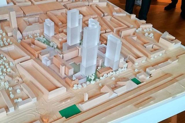 Basel plant 6 weitere Hochhäuser am Badischen Bahnhof