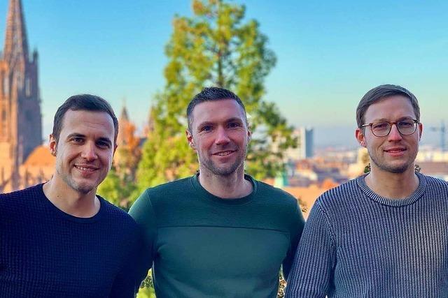 Drei Freiburger wollen mit ihrer Plattform VerstauMich freien Platz vermitteln