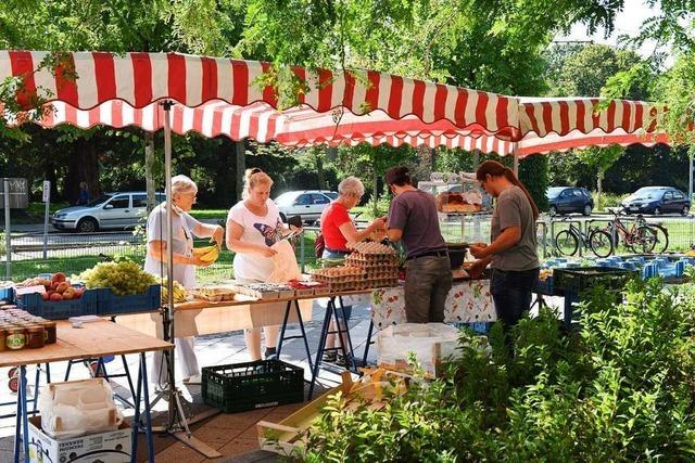 Montags-Marktstand in Weingarten gibt es derzeit nicht mehr