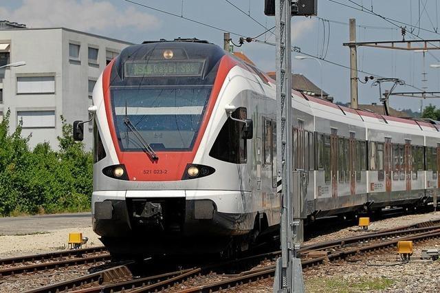 Rheintalbahn soll wieder in Betrieb genommen werden