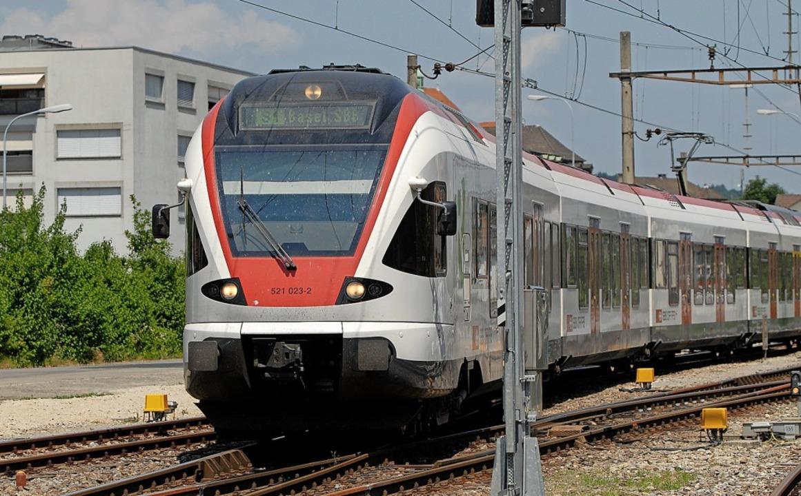 Auf der Strecke zwischen Koblenz und L...Wiederinbetriebnahme der Rheintalbahn.  | Foto: Walter Schwager