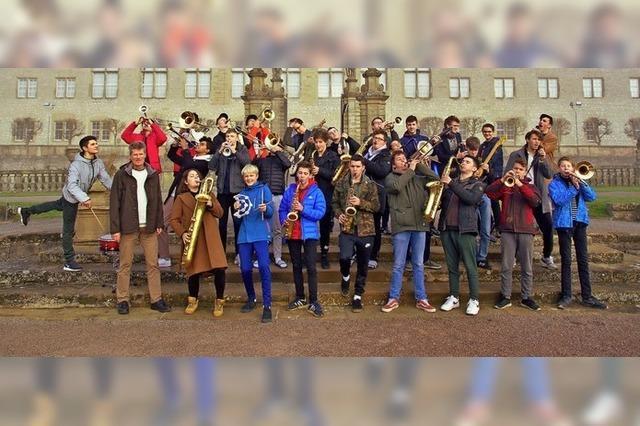 Das Jugend-Jazzorchester spielt ihr Jahreskonzet