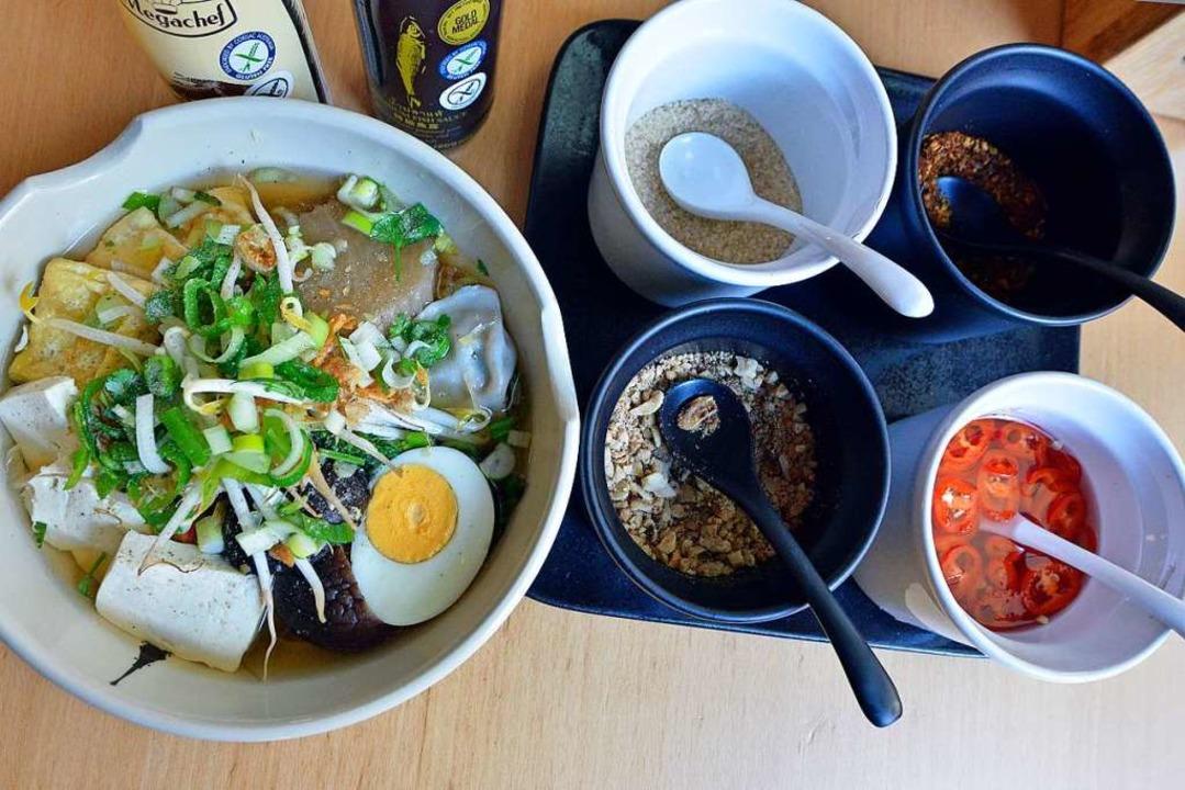 Reisnudel-Suppe im Chada Thai  | Foto: Michael Bamberger