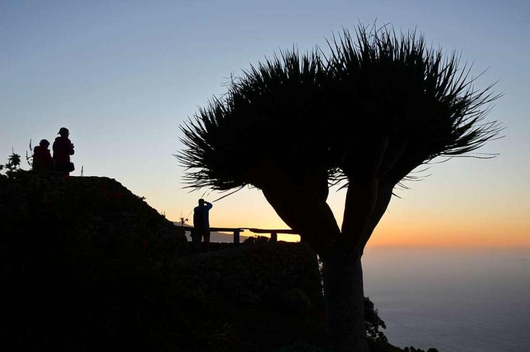 Sonnenuntergang am Mirador de la Peña  | Foto: Anita Fertl