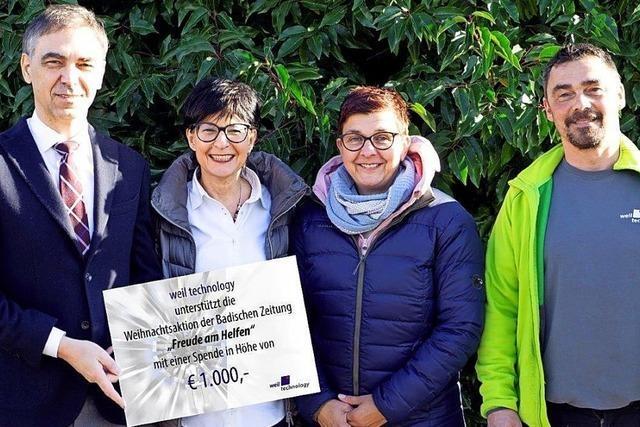 Danke für fast 50 000 Euro!