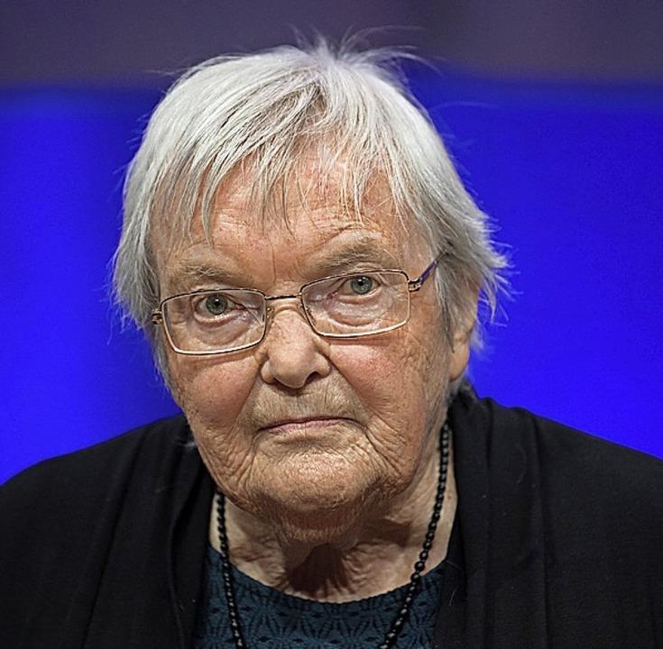 Gudrun Pausewang  | Foto: Arne Dedert (dpa)