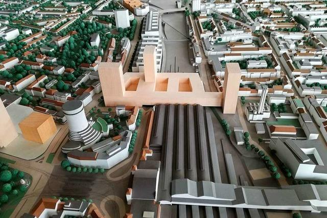 Am Bahnhof Basel SBB entsteht Wohnraum für 600 Menschen