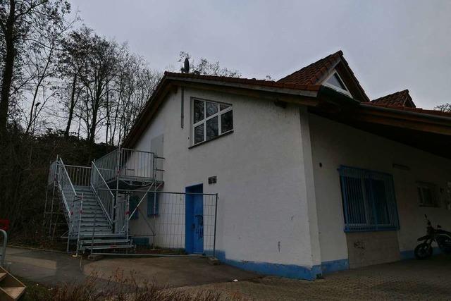 Das TuS-Heim in Efringen-Kirchen ist bald wieder nutzbar