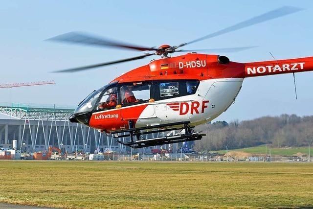 Freiburger Luftrettung bekommt neuen Rettungshubschrauber