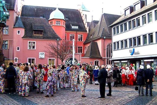 Die Breisgauer Narrenzunft belebt die Fasnet mit einem Auftaktevent