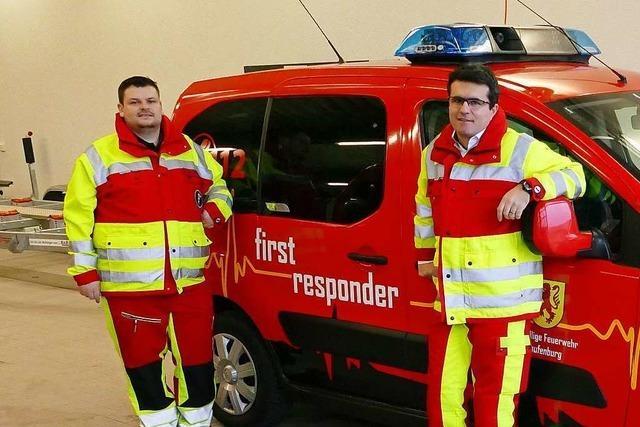 Sie sind als erste am Unfallort: Zwei First Responder sprechen über ihre Einsätze