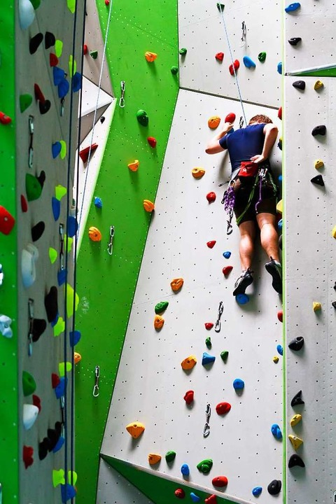 Der DAV hat seine Kletterhalle und sei...m Sportpark Freiburg-Süd (Archivbild).  | Foto: Carlotta Huber