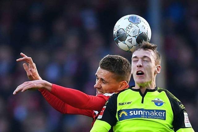 SC Freiburg kassiert gegen Paderborn nach schwachem Spiel verdiente 0:2-Niederlage