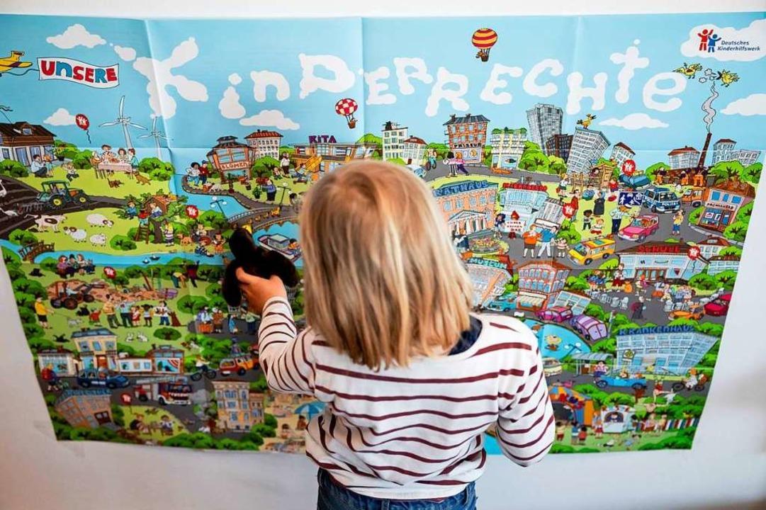 """Jedes Grundrecht gilt auch für Kinder"", sagt Friederike Wapler.    Foto: Christoph Soeder"