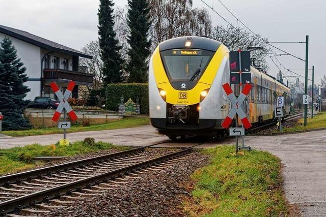 Keine schnelle Lösung in Sicht für hupende Züge in Bahlingen