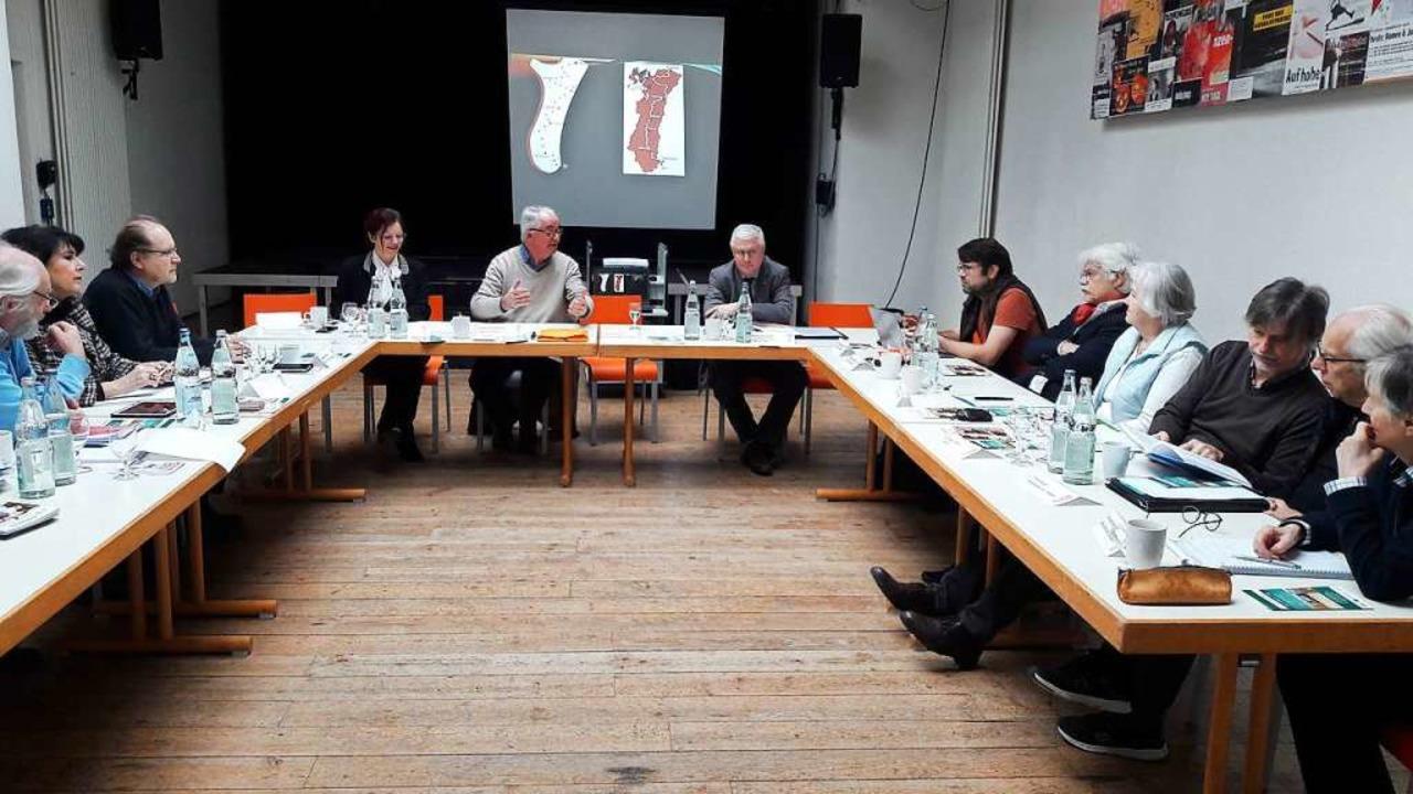 Sprochrenner 2020 Vorbereitung des gre...gst-Events im Kesselhaus Weil am Rhein  | Foto: Tonio Paßlick
