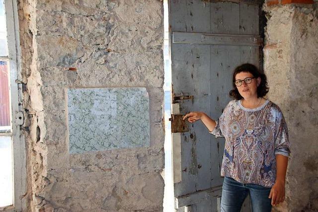 Eine Eichstetterin saniert aufwendig eine ehemalige jüdische Bäckerei