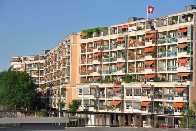 865 neue Wohnungen wurden 2019 in Basel gebaut
