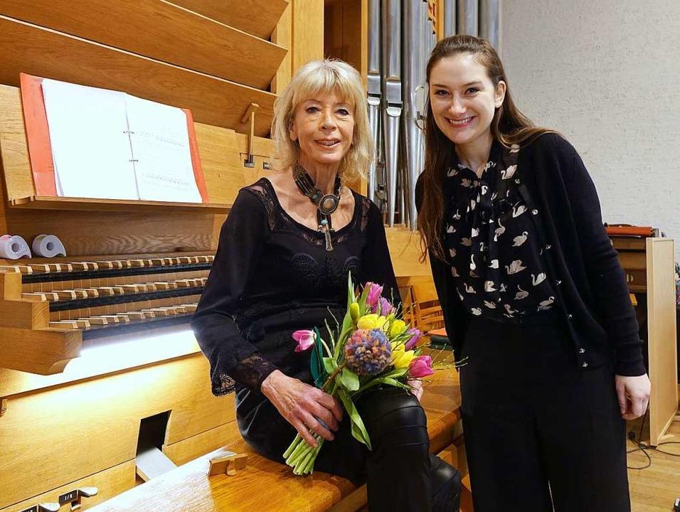 Mit einem Sonderkonzert in der Christu...in Andrea Jarnach ihren 70. Geburtstag  | Foto: Roswitha Frey