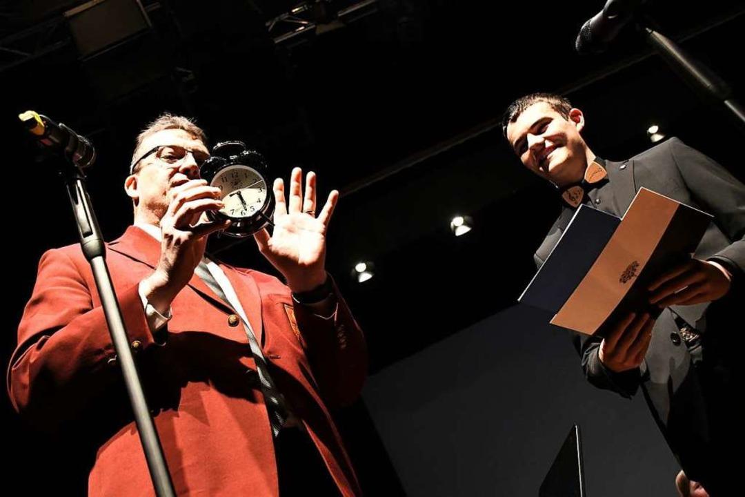 Niels Faltum (rechts) wurde verabschiedet  | Foto: Barbara Ruda