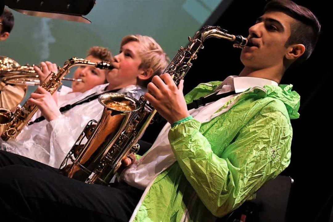 Die Orchester-Teenies  | Foto: Barbara Ruda