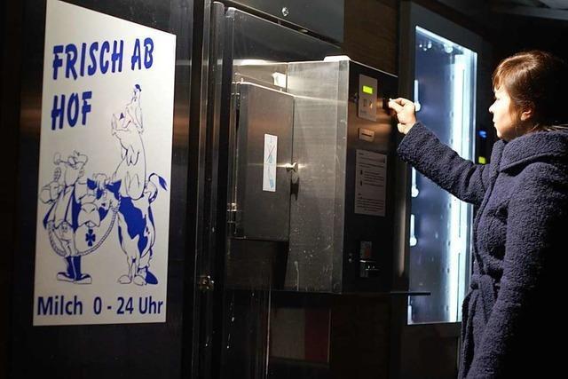 Automaten für Lebensmittel boomen in Südbaden