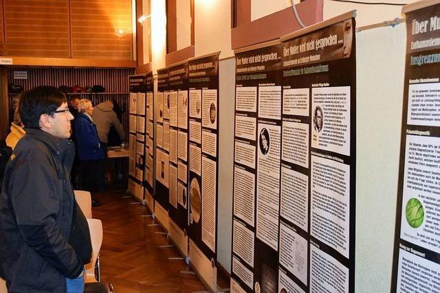 In Breisach wurde der Opfer der Euthanasie-Morde durch die Nazis vor 80 Jahren gedacht