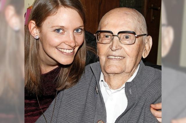 102. Geburtstag gefeiert