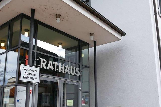 Bürgermeisterkandidaten Christoph Zachow und Patrick Thoma stellen sich in Heitersheim vor