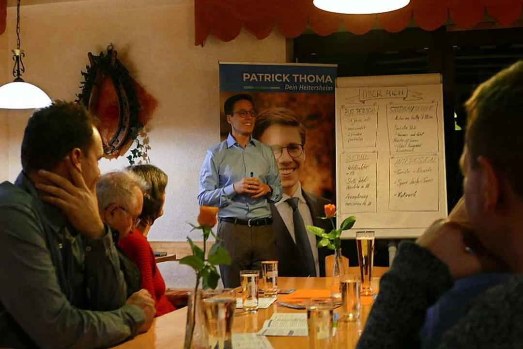 Patrick Thoma in der Belchenblick-Strauße  | Foto: Sophia Hesser