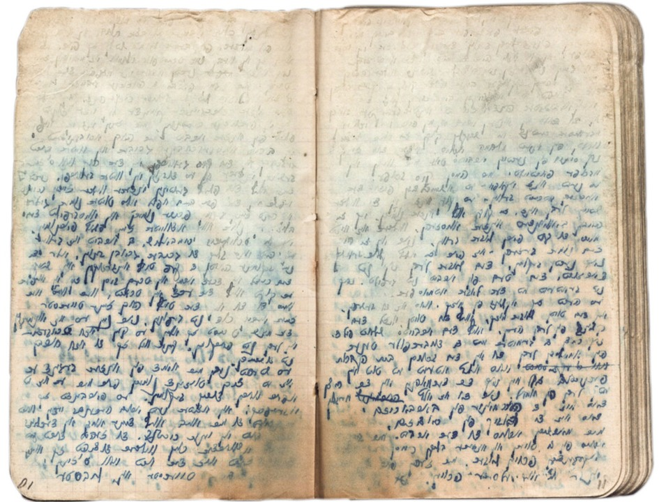 Geschriebe...ichen: das Notizbuch Salmen Gradowskis