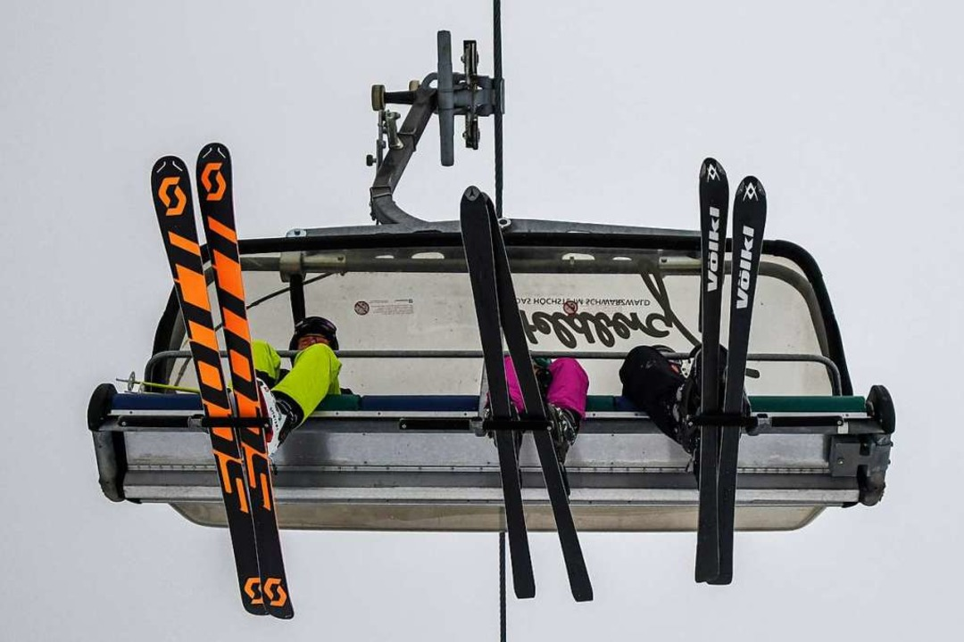 Der Unfall passierte am Skihang der 6er-Sesselbahn (Archivbild).  | Foto: Patrick Seeger