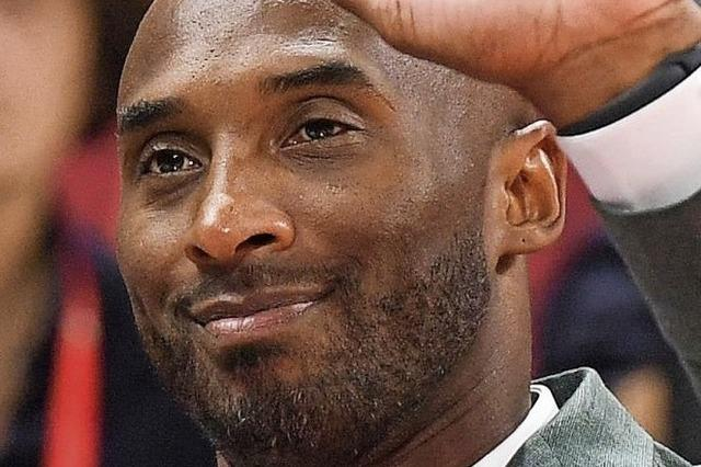 Basketballstar Bryant tot