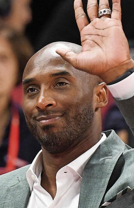 Kobe Bryant, hier auf einer Aufnahme vom 13. September 2019.  | Foto: GREG BAKER (AFP)