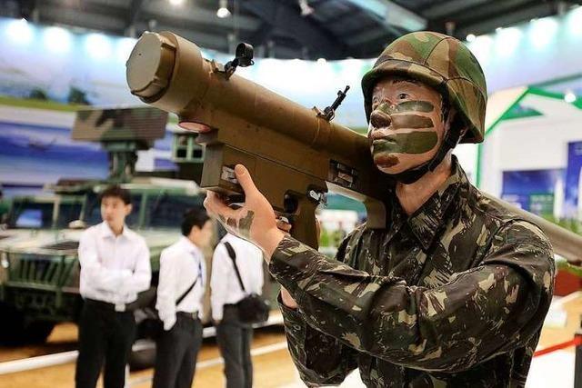 China ist auch bei der Rüstungsindustrie auf einem langen Marsch an die Spitze
