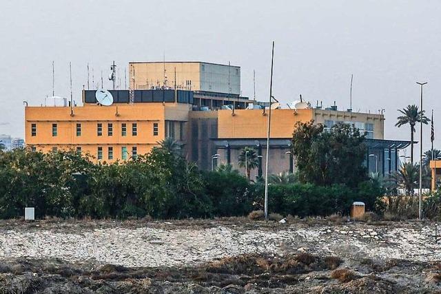 Rakete trifft Gelände der US-Botschaft in Bagdad