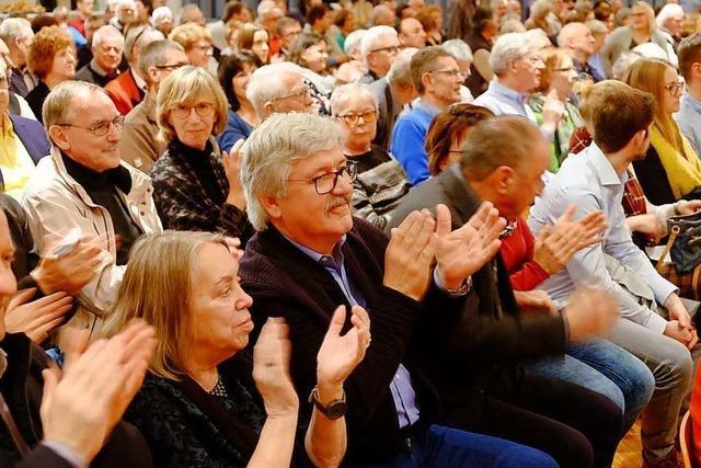 Der Schliengener Bürgertreff bot ein reichhaltiges Programm