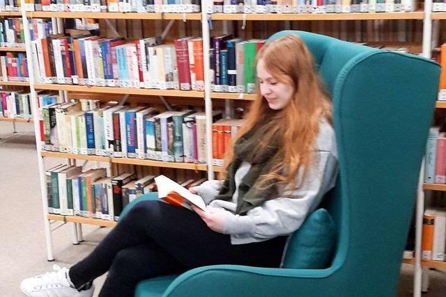 E-Medien sind in der Bibliothek in Weil am Rhein immer stärker gefragt