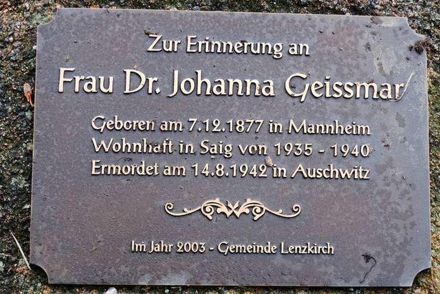 Verjagt und vergessen: Jüdische Schicksale im Hochschwarzwald