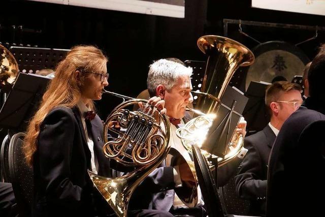Die Stadtmusik Bad Säckingen spielte zum 60. Mal im