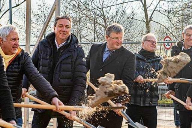 In Glottertal beginnen die Arbeiten für den neuen Rewe-Markt