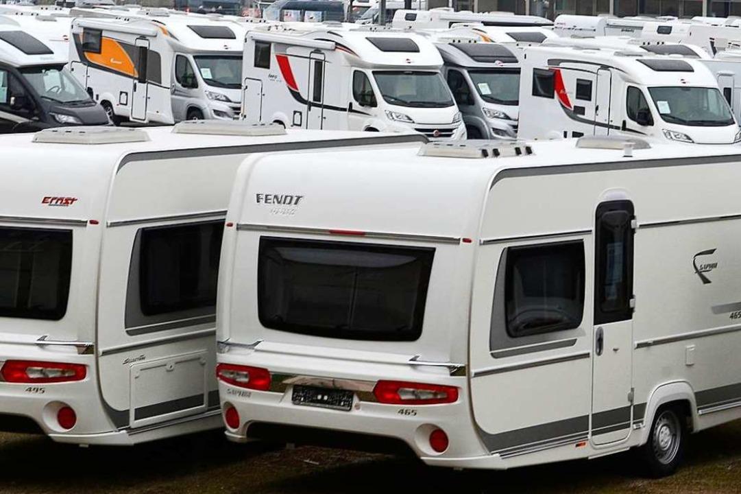 Gleich drei neuwertige Wohnwagen wurde...on Unbekannten gestohlen (Symbolbild).  | Foto: Ingo Schneider