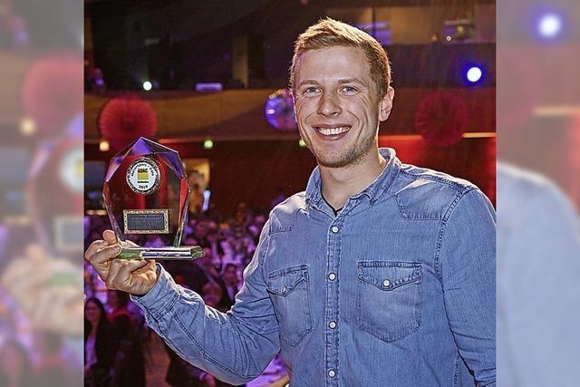 Auszeichnung für Oswald