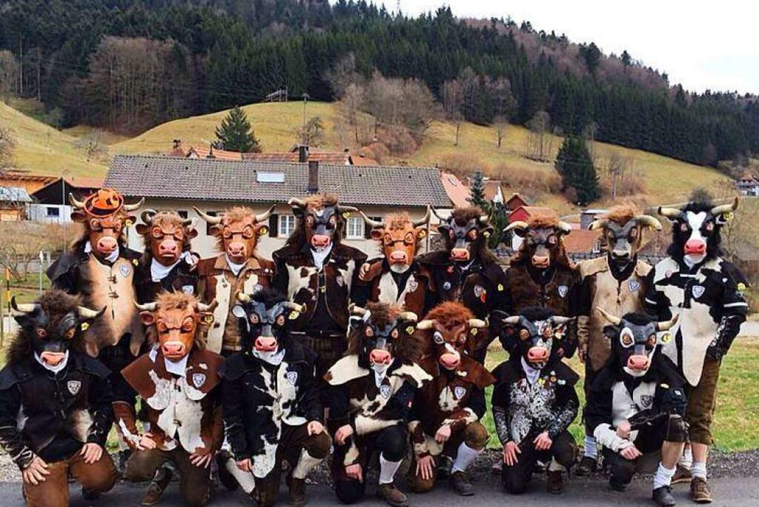 Die Fastnachtsclique der Rindviecher Rheinweiler besteht seit 2009.    Foto: Privat